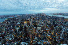 View Of New York City From Above