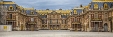 The Castle Of Versailles In Paris In France
