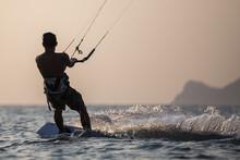 Kitesurfing, Kiteboarding Action Photos In Exotic Location.