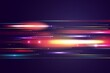 Realistic Neon Speed Motion Background_2
