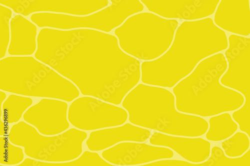ゆらゆら揺れる水面 gradient Water surface with colorful background Fototapet