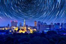 City Of Lodz, Poland- City Panorama.