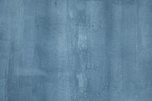 The Background Is Made Of Cement Plastered Wall With Divorces From The Brush When Applying Paint. Grey, Gray Blue, Blue With A Gradient Blackout Transition. Texture For Design And Inscription