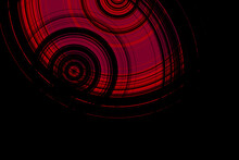 Abstract Modern Background With Red Circles For Flyers Banners And Presentations With Copyspace