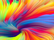 Swirling Colors Wallpaper