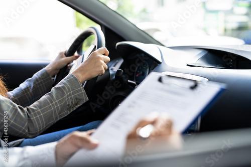 Stampa su Tela Driving License Lesson Or Test