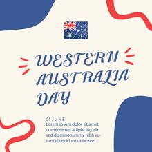Western Australian Day Design Template