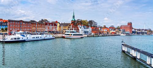 Fotografia Kappeln einer Stadt in Schleswig-Holstein