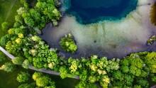 Wasser, See, Übergang Land Wasser