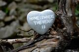 Fototapeta Kamienie - heart on the ground