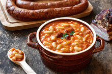 Homemade Baked Beans With Sausage And Bacon