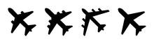 Air Plane Silhouette Icon