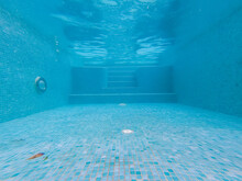 Inside View Of A Pool Tiles