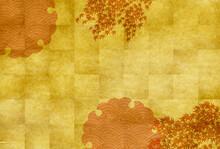 紅葉 もみじ 和紙 背景