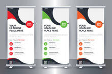 Tour And Travel Roll-up Stand Banner Template Design, Travel Tourism Roll Up Banner Design For Travel