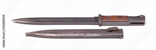 Fotografia German army ww2 period bayonet