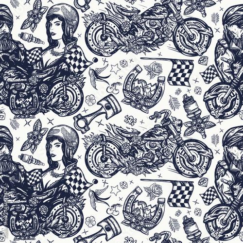 Bikers Fototapet