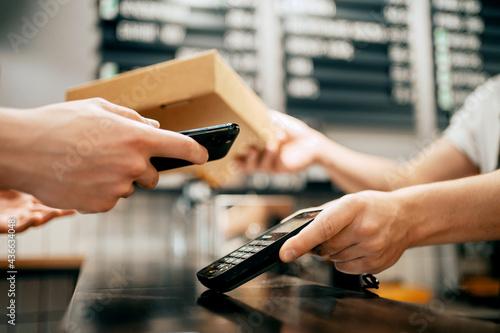 Foto NFC payment phone gadget