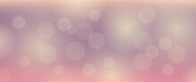 Abstract Background With Blur Bokeh Light Effect