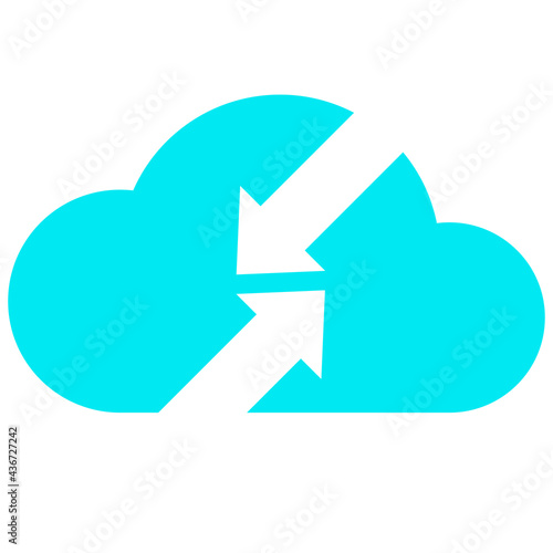 Photo business data cloud information technology