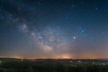 The Galactic Center Photographed From Deutwang In Germany.