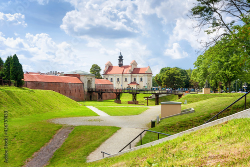 Foto Historical defensive fortifications in the historic center of Zamosc