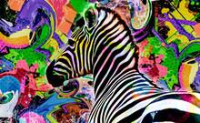 Zebra Skin Color Art