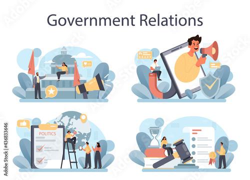 Tela Government PR set