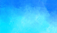 Vector Abstract Color Paint Blue Color Background.