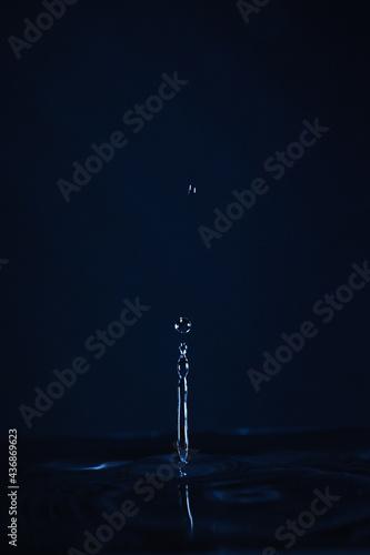 Fotomural Goutte d'eau
