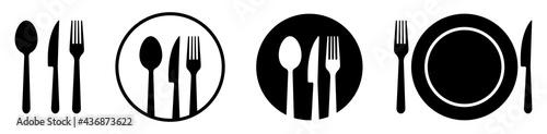 Fotografie, Obraz Set of cutlery