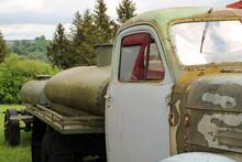 Old Rusty Oil Truck