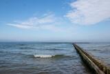 Fototapeta Fototapety z morzem do Twojej sypialni - widok na morze bałtyckie