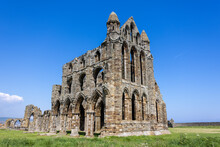 Whitby Abbey In Yorkshire, UK
