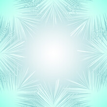 The Abstract Blue Light Burst Effect Background Template