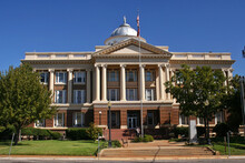 Historic Anderson County Courthouse Located In Palestine, Texas