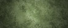 Abstract Colorful Green Emirald Olive Background Bg