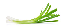 Green Onion Isolated On White Background