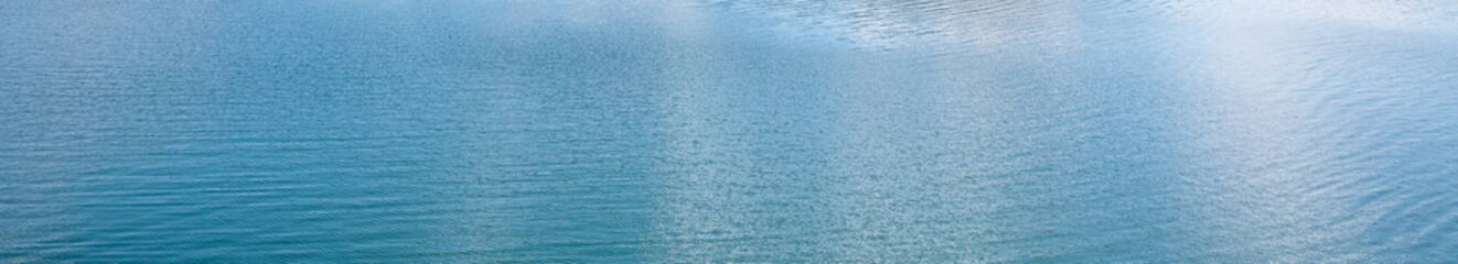 surface of blue water - sea background