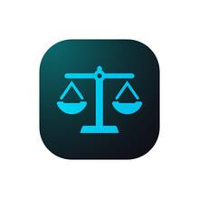 Justice - Sticker