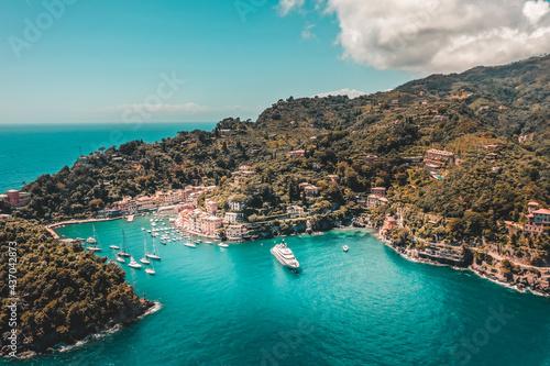 Carta da parati Portofino Italien