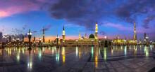 High Resolution Panorama Photo Of Masjid Al Nabawi