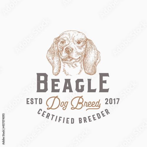Fotografija Dog Breeder Badge or Logo Template