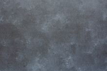 Grey Textured Concrete Background For Design. Copy Space