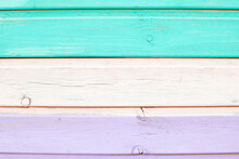 Colored Boards. Background Picture. Background. Turquoise, Pink, Lilac Boards.