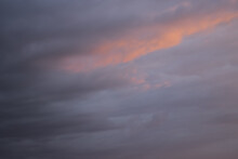 Low Angle Shot Of The Magnificent Colorful Clouds In The Sky During Sunset