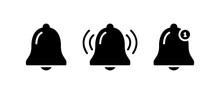 Bell Notification Icon, Bell Notification Symbol Vector