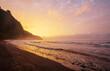 Leinwandbild Motiv Hawaiian sunset