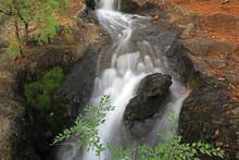 Streams Flow Among The Rocks, North China