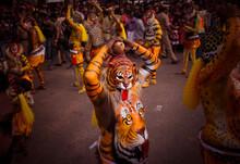 Thrissur Pulikali : Tiger Dance